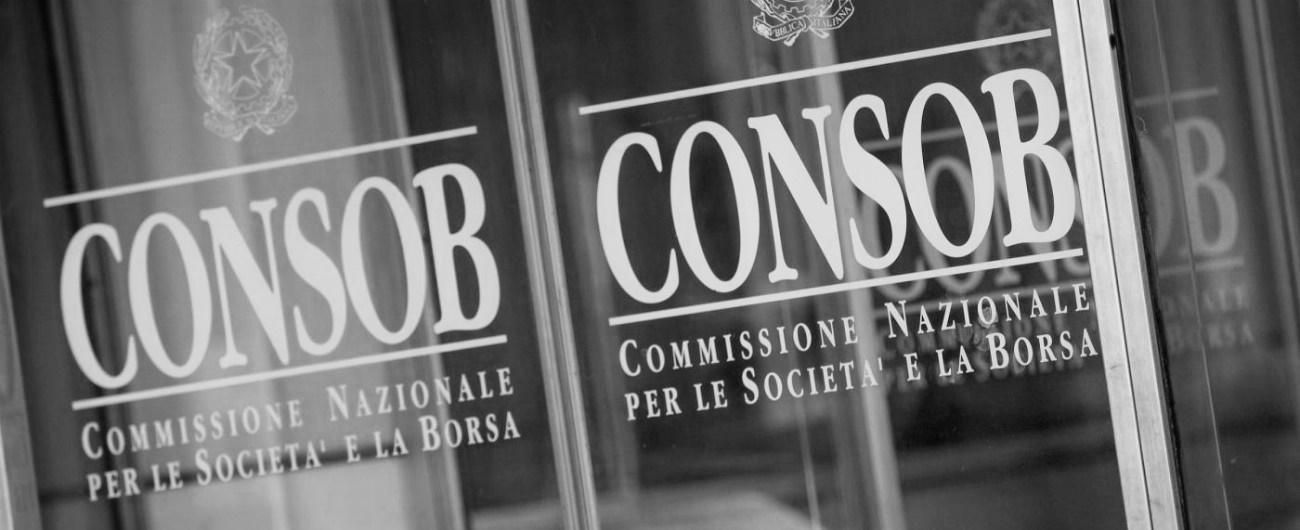 Consob - Consultazione sulle prassi di mercato ammesse ai sensi di MAR