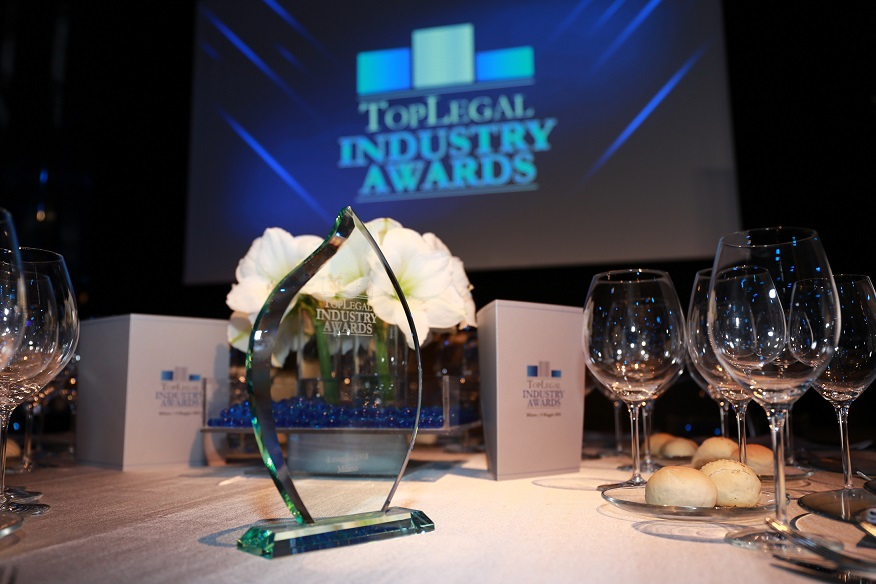 Chiomenti awarded at TopLegal Industry Awards 2019