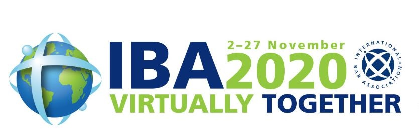 Chiomenti joins the IBA 2020 - Virtual Conference, 2-27 November 2020