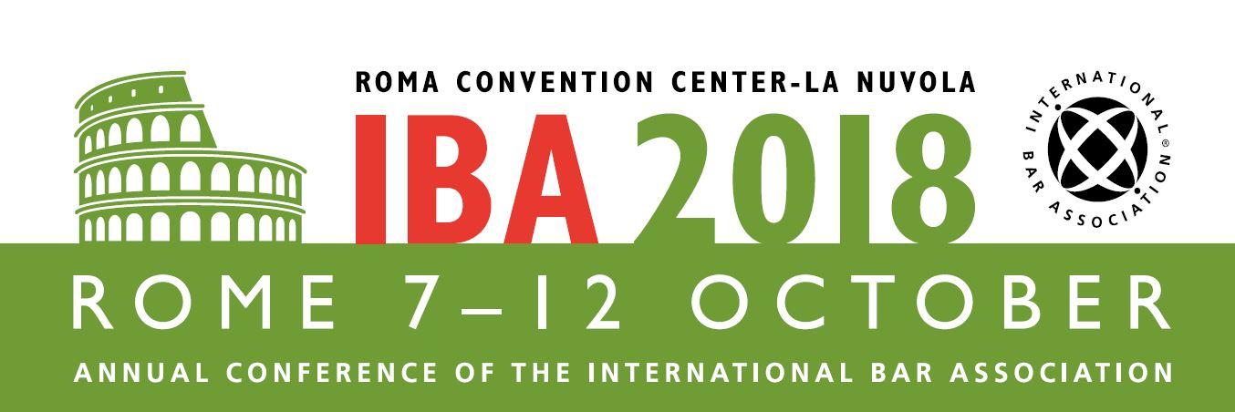 IBA Annual Conference 2018, 7-12 October, Rome