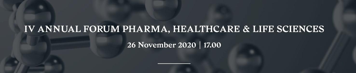 IV Chiomenti Annual Forum Pharma, Healthcare & Life Sciences, 26 November 2020