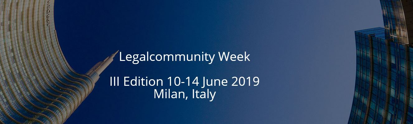 Join Chiomenti at Legalcommunity Week 2019: meetings, conferences and entertainment events that will turn Milan into the capital for law and business