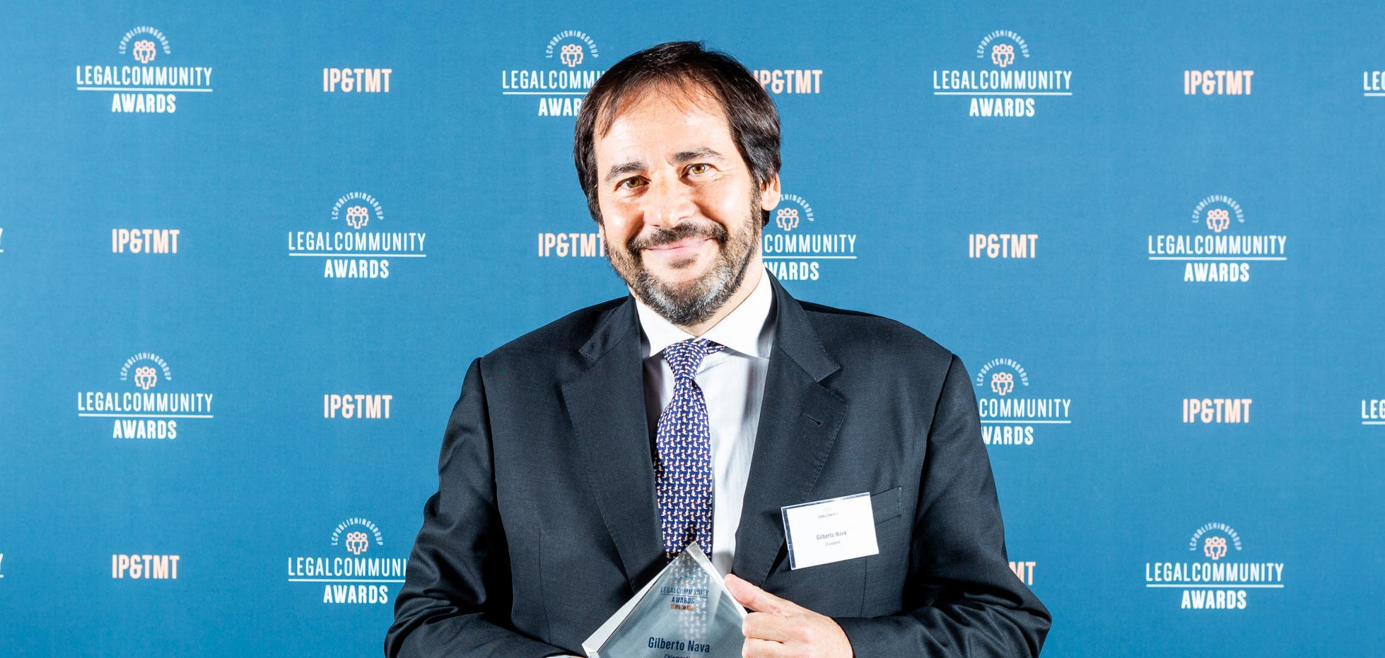 "Legalcommunity IP & TMT Awards 2019, Chiomenti's partner Gilberto Nava awarded as ""Lawyer of the Year Telecommunications"""