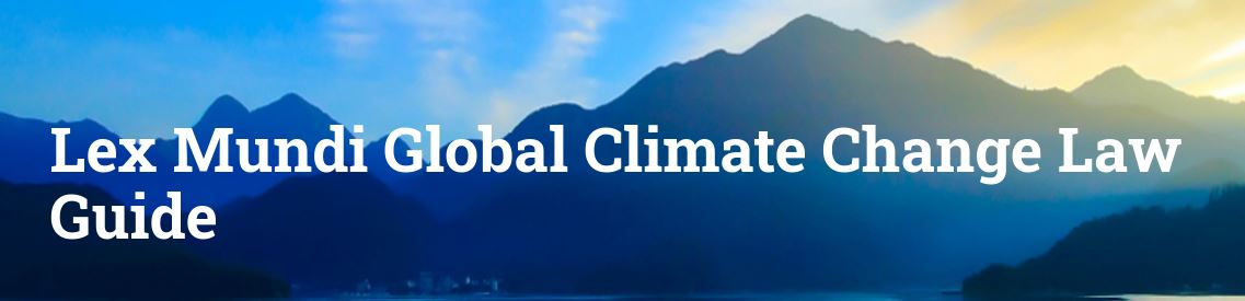 Lex Mundi Global Climate Change Law Guide – Italy Chapter by Chiomenti