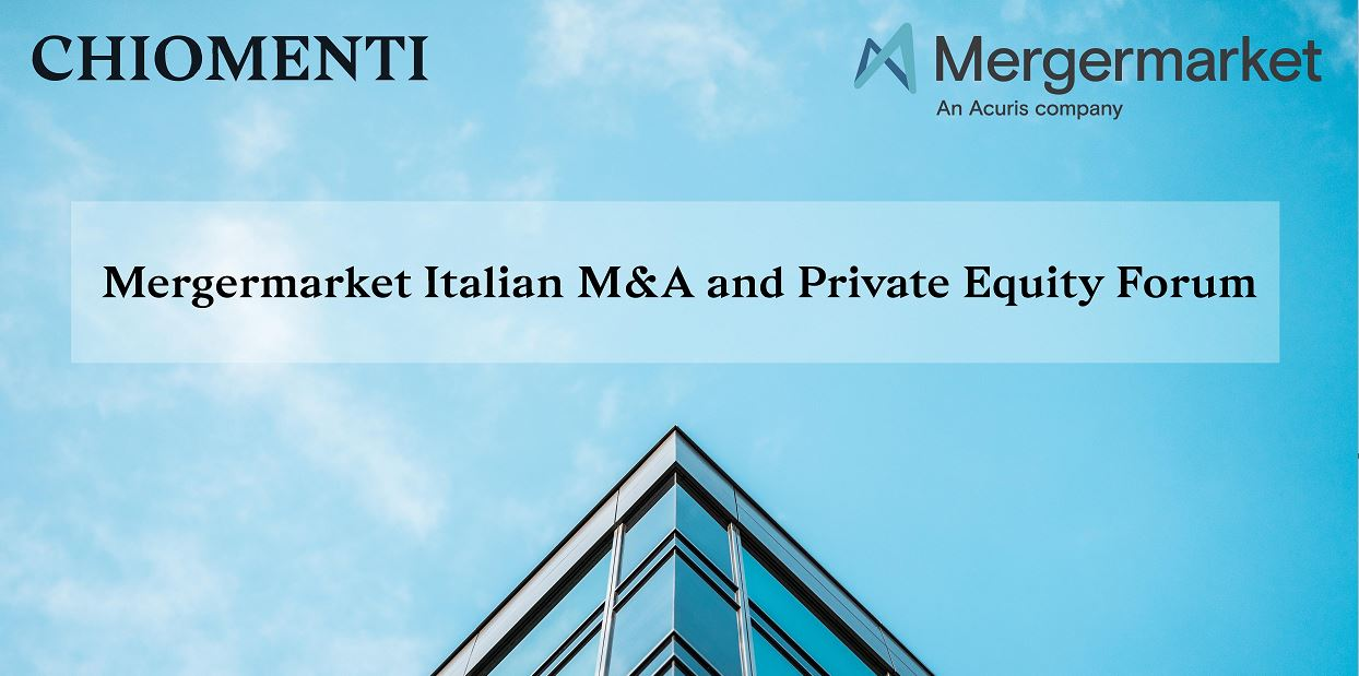 Mergermarket Italian M&A and Private Equity Forum - 24 October 2018, Milan
