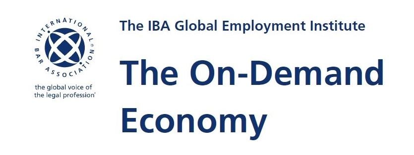 """New IBA Report """"The On-Demand Economy"""": Italy chapter by Chiomenti"""