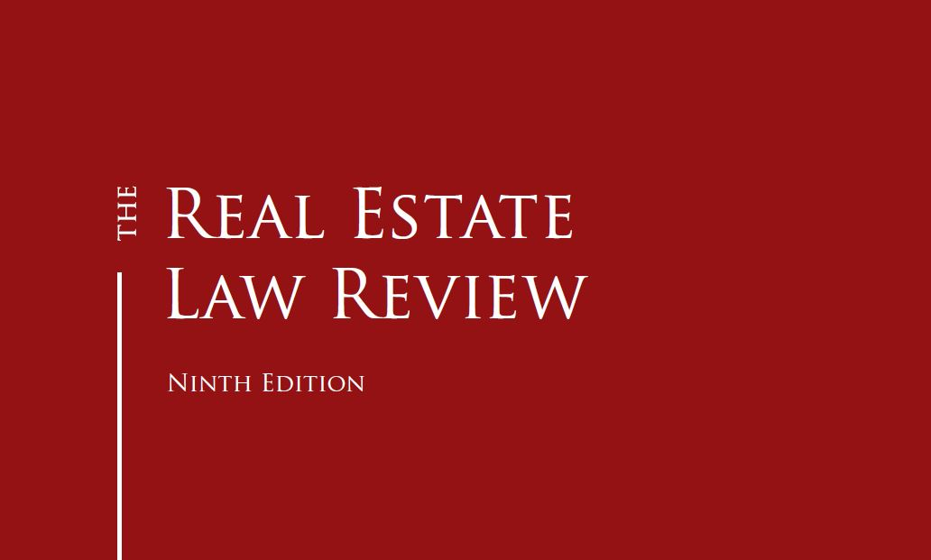 The Real Estate Law Review: Italy chapter by Chiomenti
