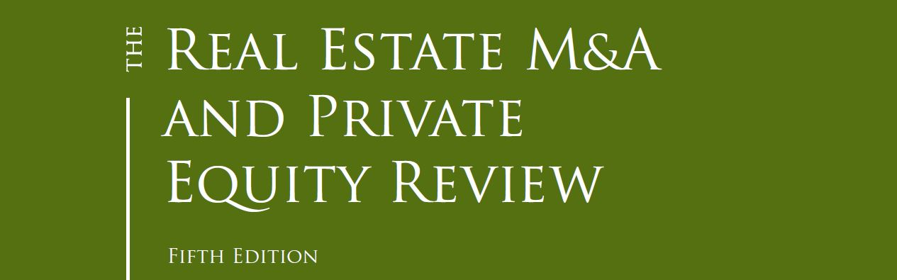 The Real Estate M&A and Private Equity Review: Italy Chapter by Chiomenti
