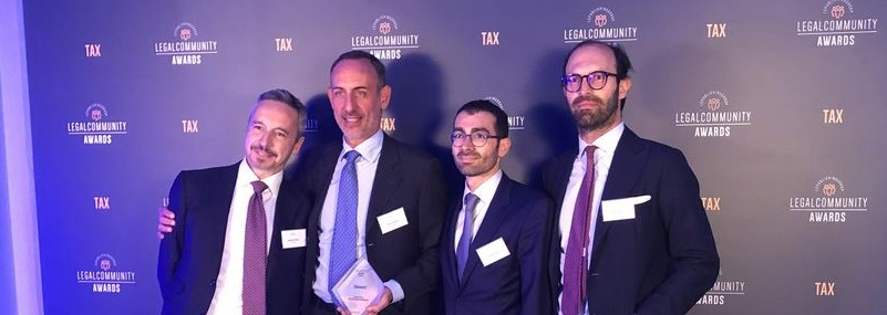 "Legalcommunity Tax Awards 2019: Chiomenti wins the award ""Firm of the year M&A""."