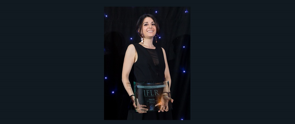 "IFLR International Financial Law Review Awards 2019: Chiomenti's Senior Associate Federica Scialpi awarded as ""Rising star lawyer of the year"""