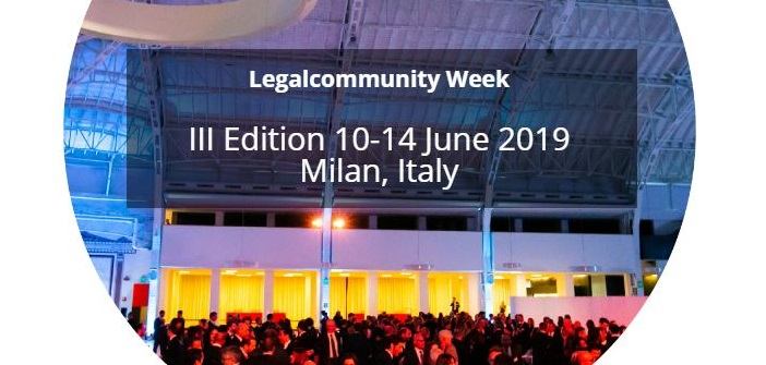 Conference on International M&A – Legalcommunity Week, 13 June 2019, Milan