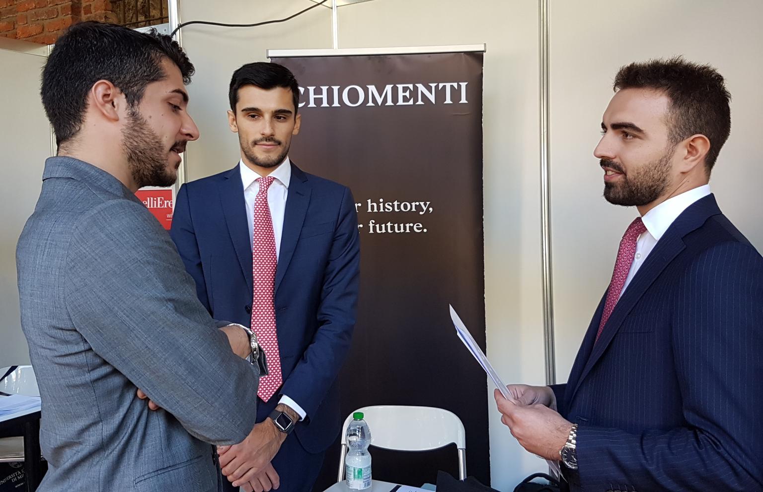 Chiomenti partecipa alla Job Fair 2019 presso Università degli Studi di Milano in programma mercoledì 2 ottobre 2019 (ore 10-17).
